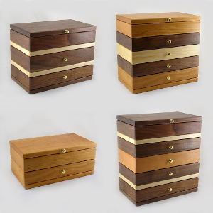 KRT Woodworking Modular Jewelry Box System