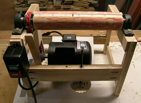woodworking diy drum sander