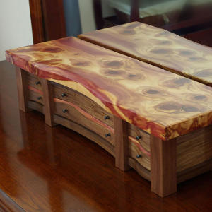 KRT Woodworking - Unique Jewelry Boxes
